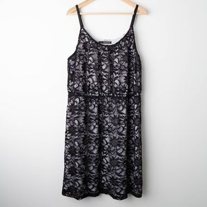 [Maurices] Black Lace Dress 1X